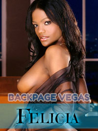 Felicia is ready to give an exotic massage Las Vegas experience.