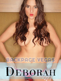 Deborah is one sexy escort with killer curves.