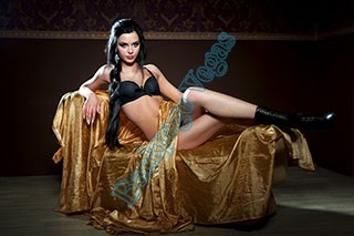 Nothing hotter than a beautiful woman covered in gold.